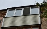 Установка крыши на балконе..Низкие цены!