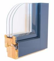 Деревянные окна дерево-алюминиевые окна,  витражи,  безрамное остекление
